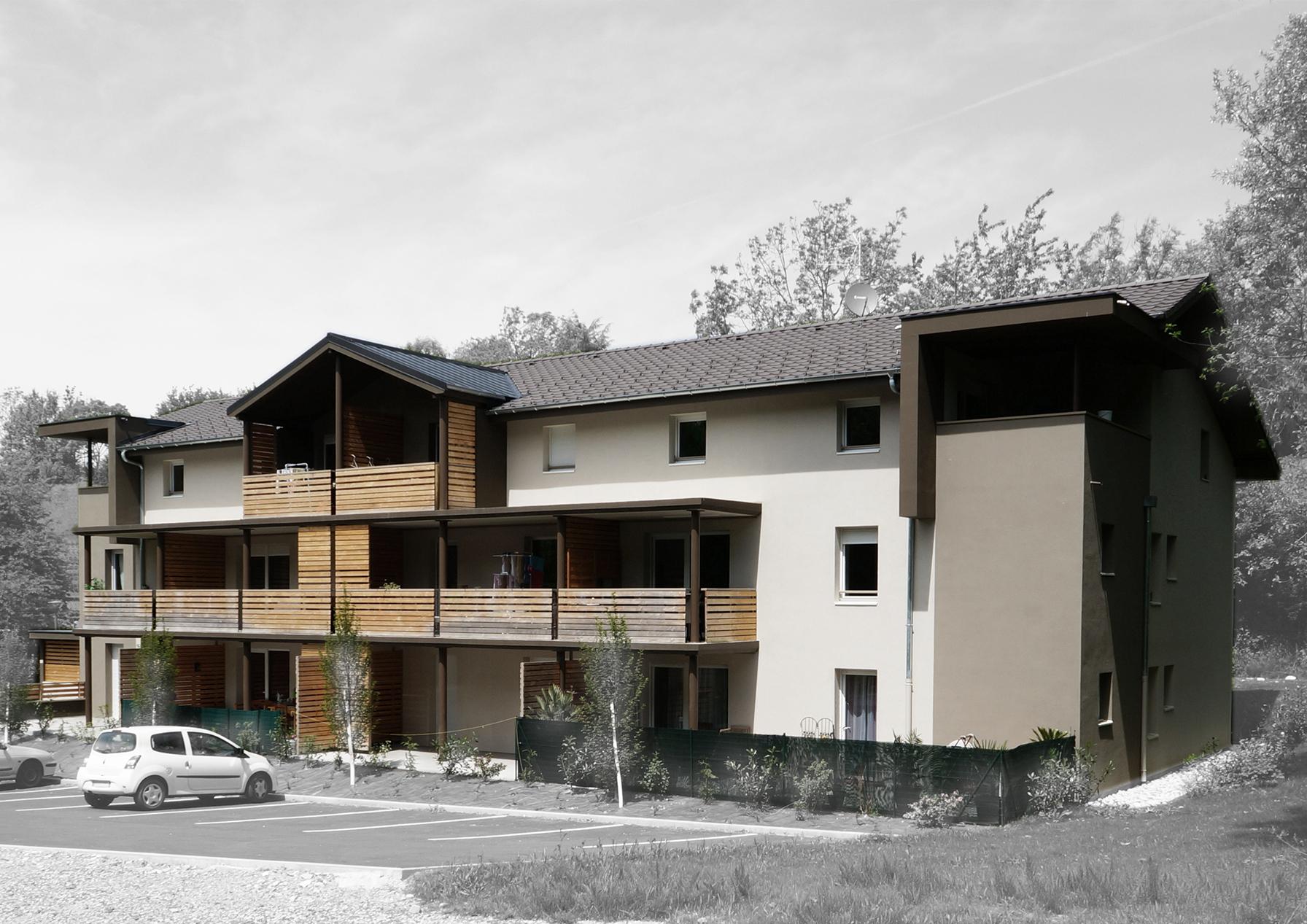 12 Logements à BONNE | Architecte GUYOT Nelly - POULAIN Isabelle |