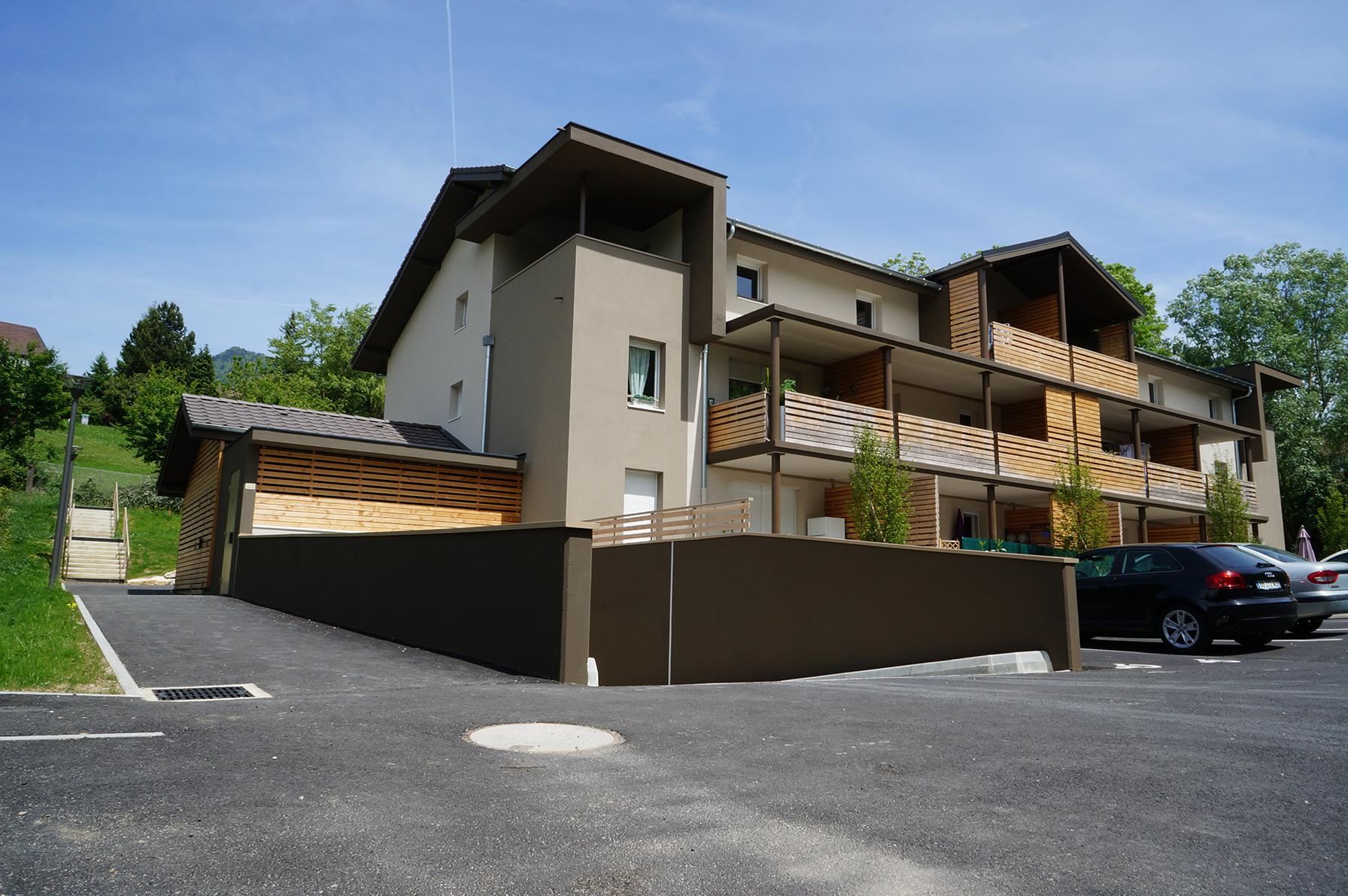 12 Logements à BONNE - Architecte GUYOT Nelly - POULAIN Isabelle