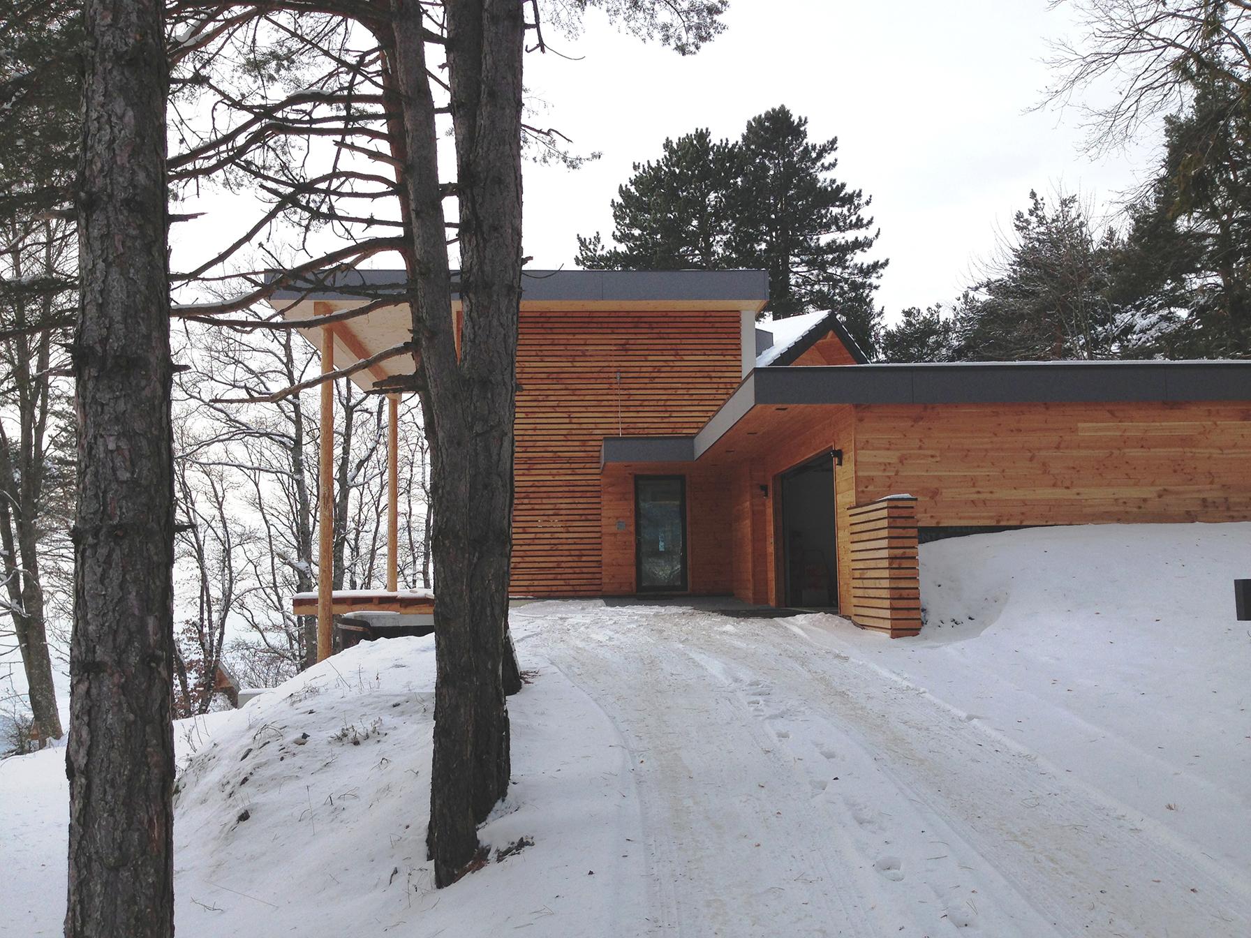 Maison Minergie | Architecte GUYOT Nelly |