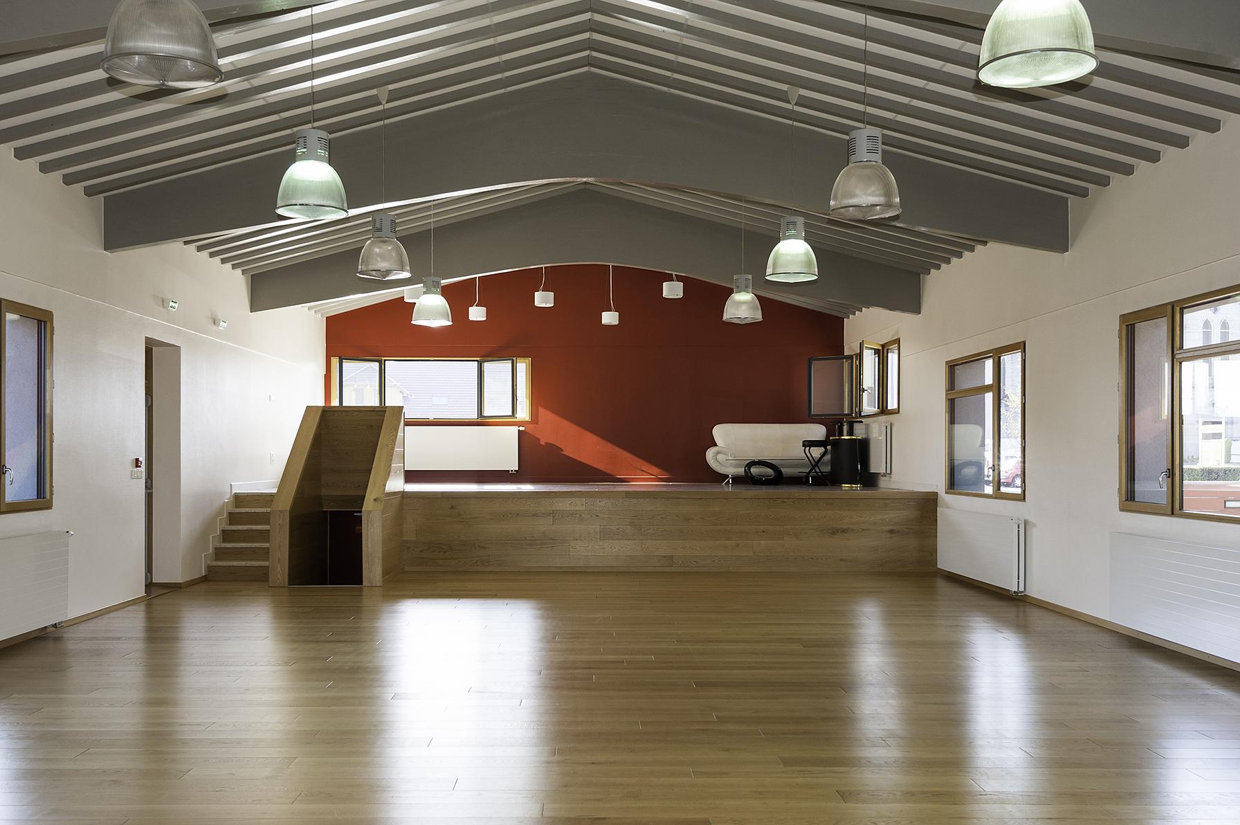 Maison pour Tous - Architectes GUYOT Nelly et POULAIN Isabelle