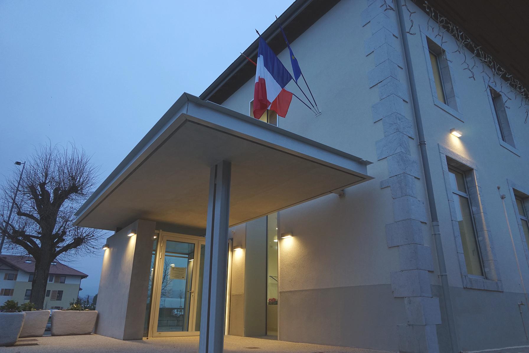 Mairie de ARTHAZ-PONT-NOTRE-DAME | Architecte: Nelly GUYOT